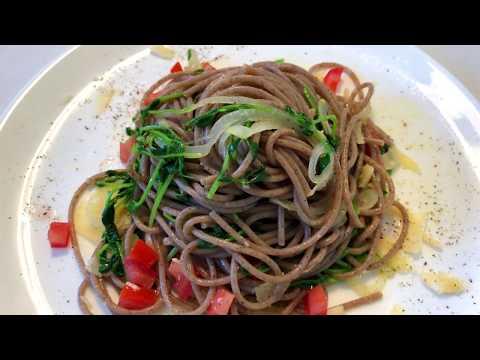 erbsengrün-mit-buchweizenspaghetti-🔴-gesund-&-lecker