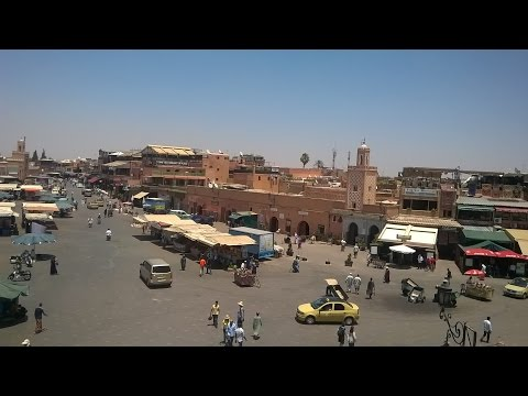 Jaama el Fña square in Marrakech (to remember your holiday)