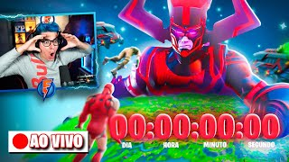 AGORA! EVENTO AO VIVO FINAL DA TEMPORADA 4 NO FORTNITE!