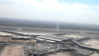 Flight takes off from Indira Gandhi International Airport