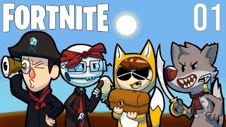 Foxman and Boys Play: Fortnite - Ep. 1 - Real Unity