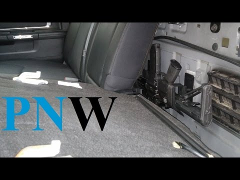 Back Seat Mod How-to - Ram Crew Cab - PNWreckage