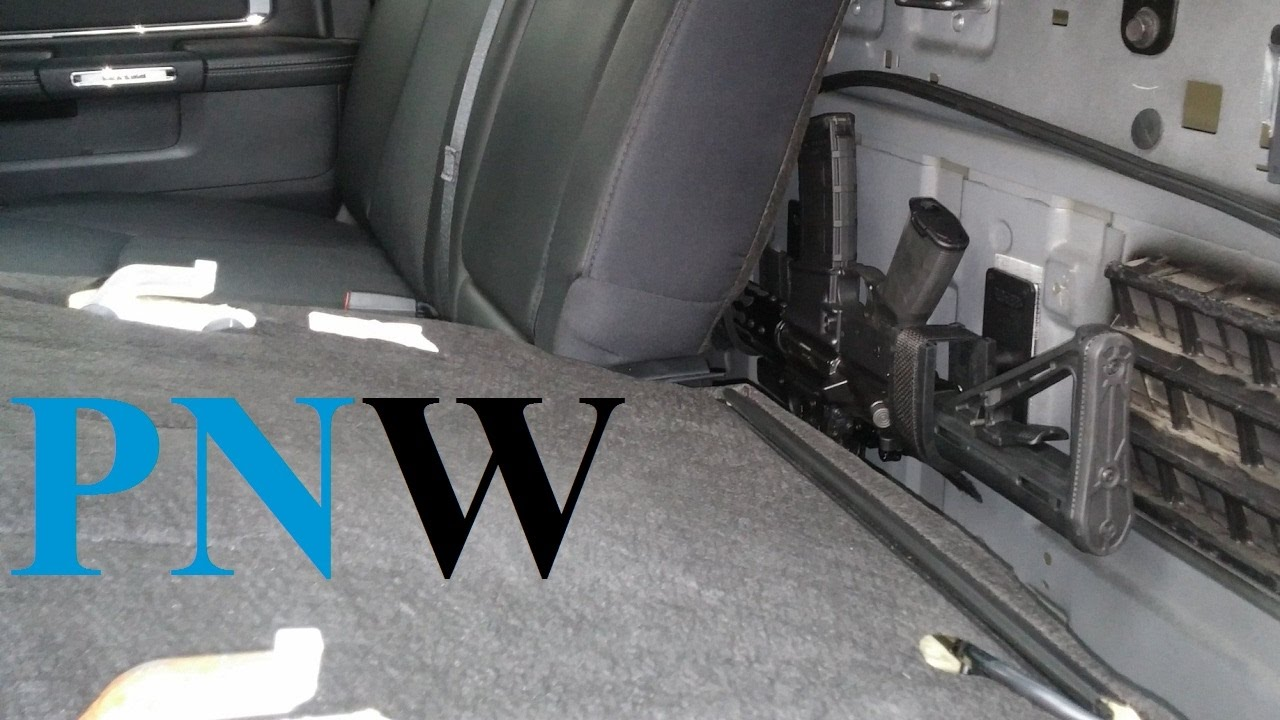 Back Seat Mod - Ram Crew Cab - PNWreckage - YouTube