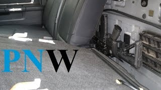 Back Seat Mod - Ram Crew Cab - PNWreckage