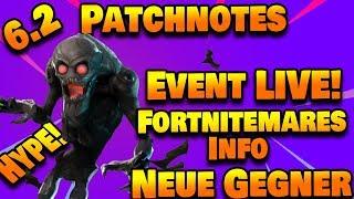 6.2 Patchnotes - Fortnite Nightmare Event, ALL NEW! Fortnite sauve le monde
