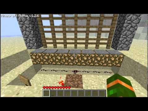 minecraft craftbook gate redstone wiring basics automatic and rh youtube com Redstone Active Minecraft Redstone