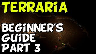 Terraria Beginner's Tutorial - Part 3 (Switch, Mobile, PC, PS4, XBox)