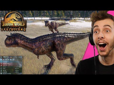 I GOT TO PLAY JURASSIC WORLD EVOLUTION 2!!! - The Campaign | Jurassic World Evolution 2 Gameplay