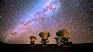 A timelapse view of the milkyway from Chile