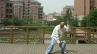 La boxe du faît suprême de Quanyou démontrée par maître Wu Bangcai
