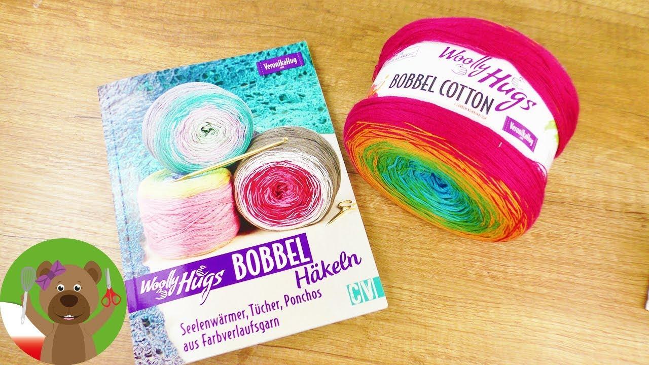 Szydełkowanie | Woolly Hugs Bobble Cotton | prosty wzór na szal | szal ze słupków na szydełku