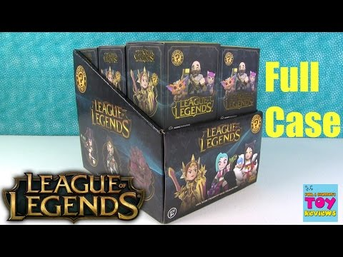 League Of Legends Funko Mystery Minis Vinyl Figure Unboxing   PSToyReviews