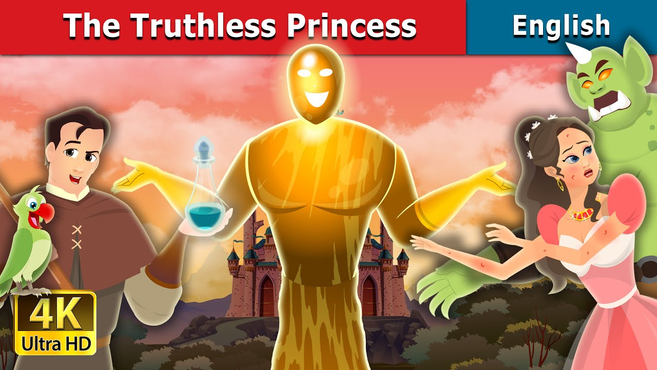 The Truthless Princess Story in English | Stories for Teenagers | English Fairy Tales