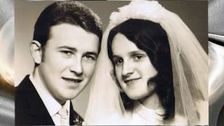 Milada A Ruda Řehořovi - Zlata Svatba
