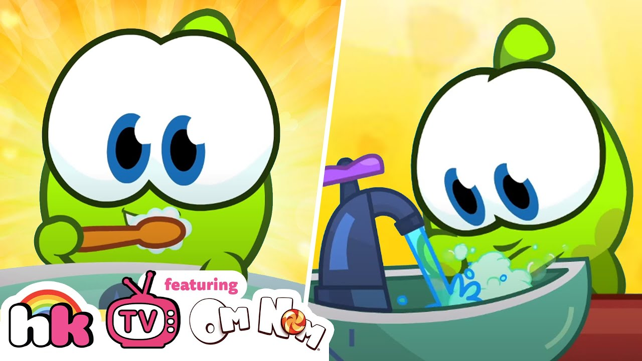 Om Nom Stories Full Episodes: Healthy Habits for kids | Cut the Rope | Funny Cartoon | HooplaKidz Tv