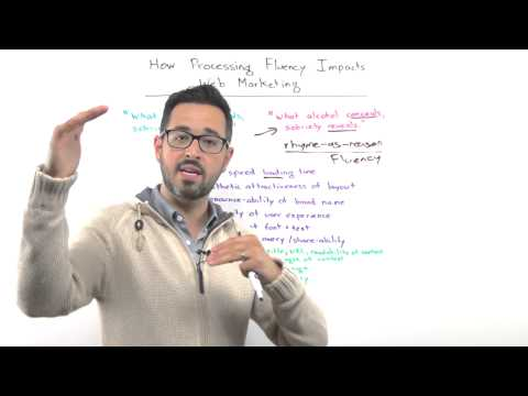 How Processing Fluency Impacts Web Marketing - Whiteboard Friday