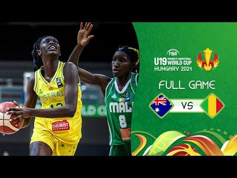 SEMI-FINALS: Australia v Mali | FIBA U19 Women's Basketball World Cup 2021