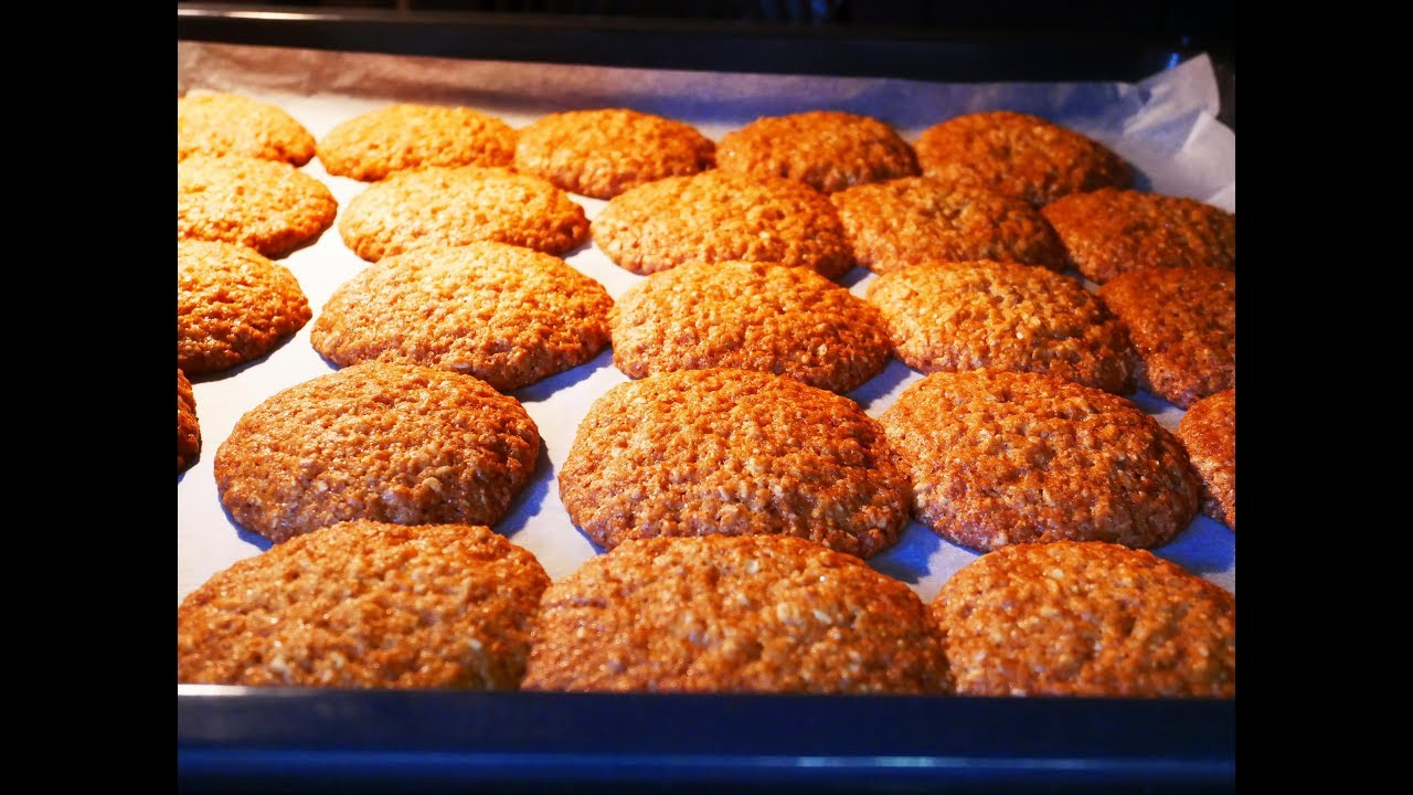 овсяное печенье правильное питание рецепт
