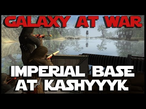 Men of War: Assault Squad - Star Wars Mod - Imperial Base at Kashyyyk