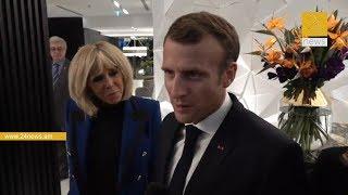 Emmanuel Macron | Մակրոնը տիկնոջ հետ ժամանեց Հայաստան / #24News - ի բացառիկ կադրեր