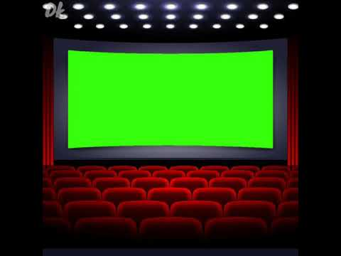 Cinema Theatre Green Screen Green Screen Background Youtube