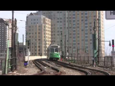 MBTA Lechmere Green Line Station