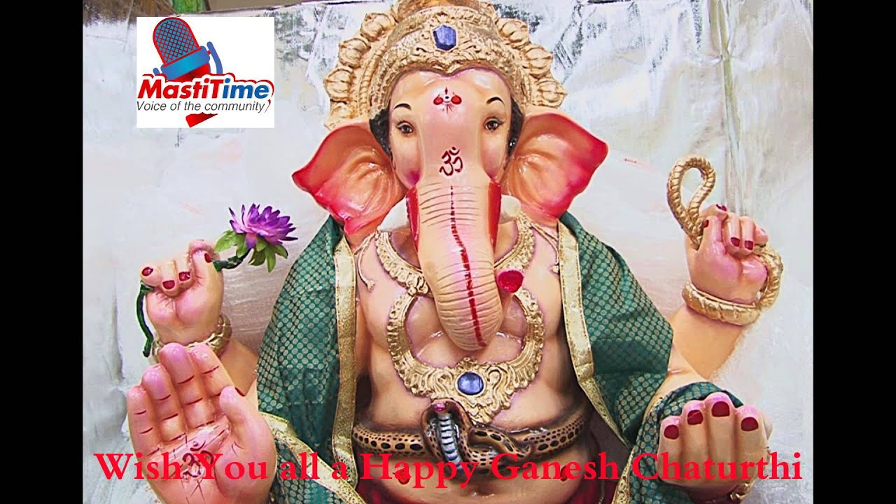 Mastitime Radio Wishes Happy Ganesh Chaturthi