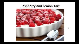 Paleo Desserts - Raspberry And Lemon Tart By A Former Diabetic