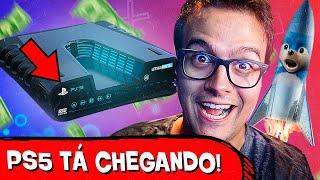 SONIC NO ESPAÇO e DATA DO PS5!! - PLANTÃO DOS GAMES #36