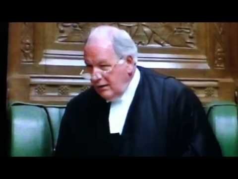 Commons Speaker Martin ejects tam dalyell -Iraq 2003
