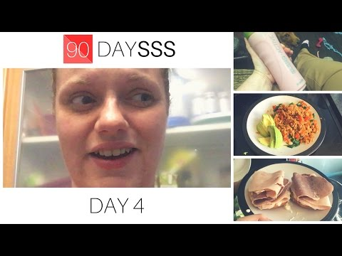 Day 4 Vlog - 90 Day SSS Plan | The Body Coach Lean in 15