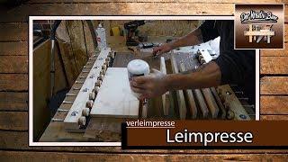✅ Verleimpresse  (Leimpresse DIY)