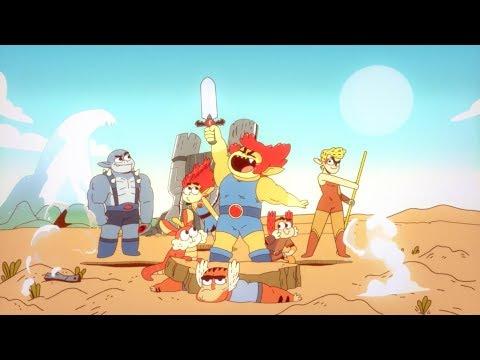 Cartoon Network's new 'ThunderCats' series ThunderCats Roar from YouTube · Duration:  3 minutes 13 seconds