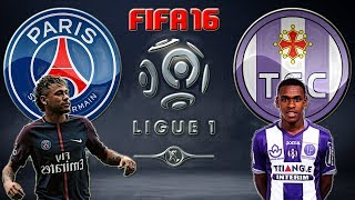 Paris Saint Germain VS. Toulouse (20/08/2017) LIGUE 1 - FIFA 16