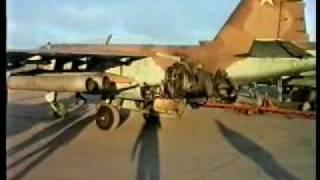 Suchoi Su-25 (Frogfoot) Erdkampfflugzeug Су-25 (1) Tschetschenien Krieg