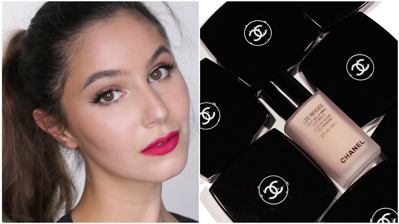 7231f8dcfb Chanel Les Beiges Healthy Glow Foundation First Impressions | Karima  McKimmie