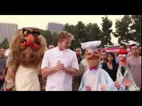 Pelea de comida con gordon ramsay en los muppets youtube - A tavola con gordon ramsay ...