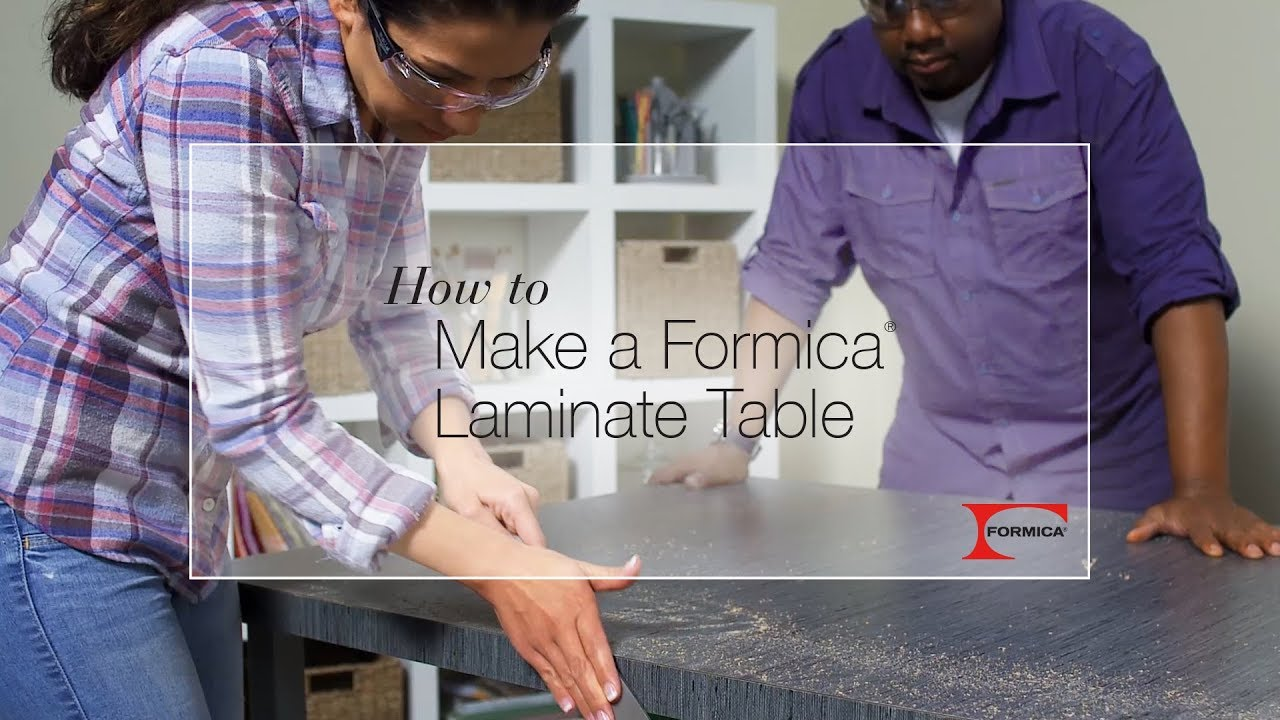 How To Make A Formica Laminate Table