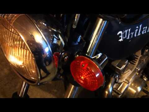 2011-12-10 Suzuki GS 425L New Turn Signal Mounts