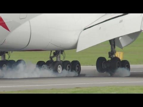 A380 Wheels Close-up