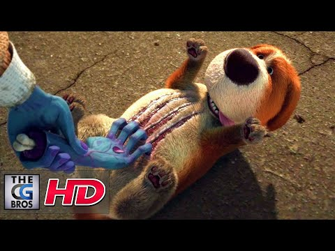 CGI **Award-Winning** 3D Animated Short Dead Friends - by Changsik Lee