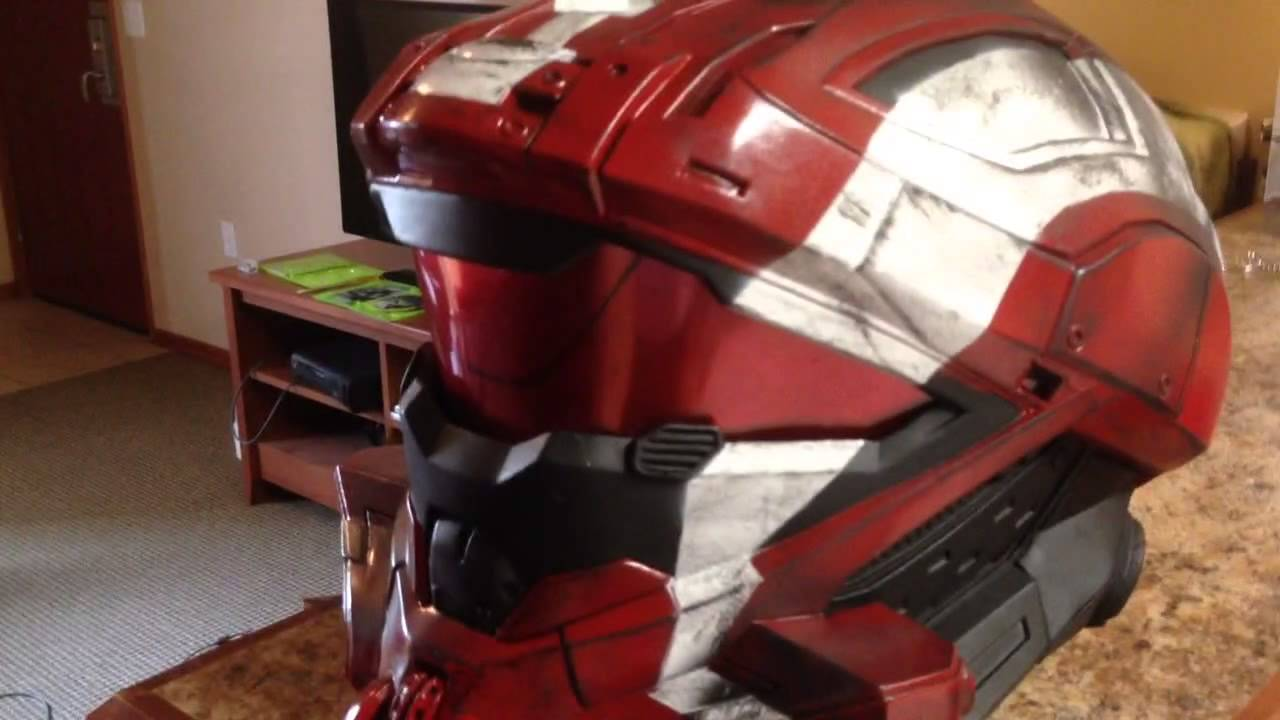 REAL Halo 4 Recon Helmet and Visor Q&A - YouTube