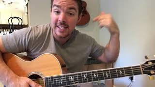 Neon Church | Tim McGraw | Beginner Guitar Lesson Video