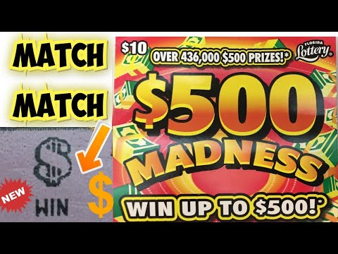 💥MATCH MATCH 💥NEW FLORIDA LOTTERY TICKETS WE SPENT$40 ON FLORIDA LOTTERY AND THIS HAPPENED___?