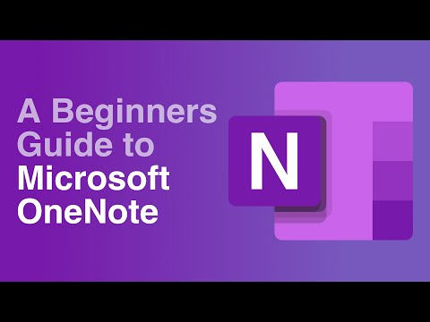 A Beginners Guide to Microsoft OneNote