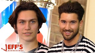 TikTok Star Lil Huddy Confronted During Haircut | Jeff's Barbershop