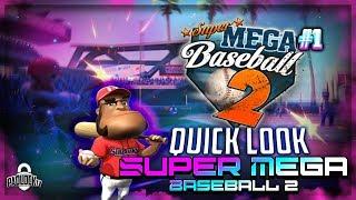 Super Mega Baseball 2 | Xbox One | Quick Taste | Best Baseball Game On Xbox