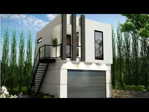 shipping container house with garage - 40 foot shipping container house - design container house