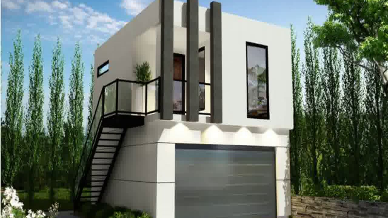 Container Haus Villa Shipping Container House With Garage 40 Foot Shipping Container House Design Container House