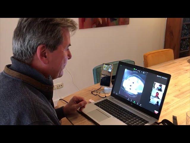 Videoconferentie Nederland-Kenia, november 2020